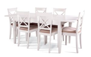 PRAHA table + X chair (SET)