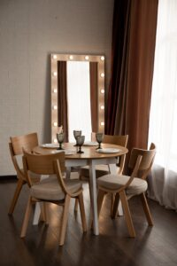 MARS table + DIRAN chair (SET)